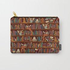 Bookshelf Carry-All Pouch