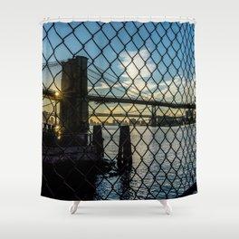 Brooklyn Bridge (Gated) Shower Curtain
