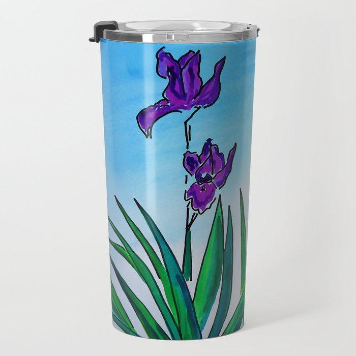 Iris Travel Mug