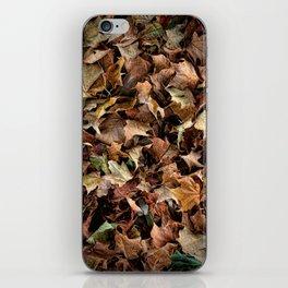 Leaf Jumble iPhone Skin