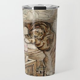 Tom Kitten looking for mice Travel Mug