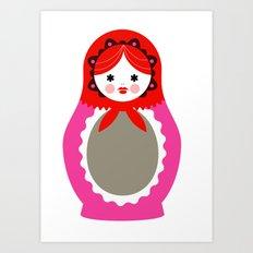 Matrioska-006 Art Print