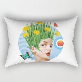 Summertime & the living is easy Rectangular Pillow