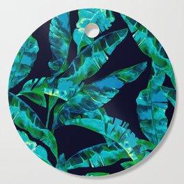 Tropical addiction - midnight grunge Cutting Board