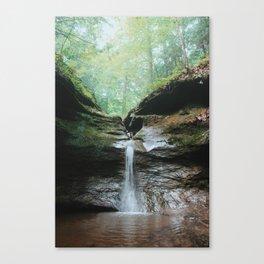Punch Bowl Waterfall Canvas Print