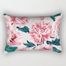 Pattern pink vintage peonies Rectangular Pillow