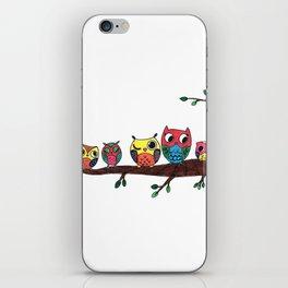 owls buknatso~ ბუები [ბუკნაწოები]  iPhone Skin