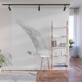 """"""" Animals Collection """" - Flying Bird Wall Mural"""