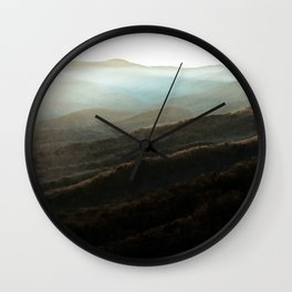 North Georgia Mountains 4 Wall Clock