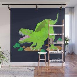 Dino - Bright Wall Mural