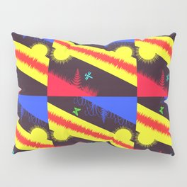 Nature Abstraction Pillow Sham