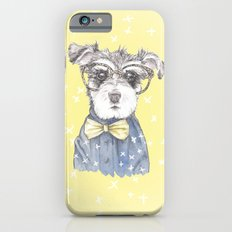 Schnauzer Dog Hipster Pup Slim Case iPhone 6s
