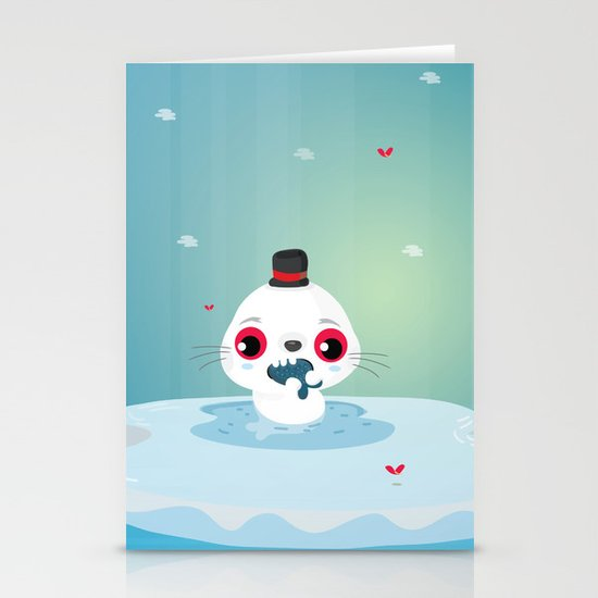 Seal Stationery Cards