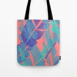 Carved Fluo Jungle #society6 #decor #buyart Tote Bag