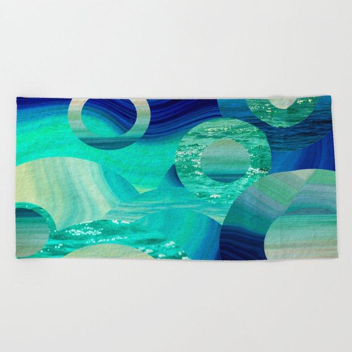 SEA-NCHRONICITY Beach Towel