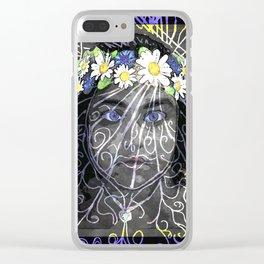 Celsa - Flower Power Clear iPhone Case