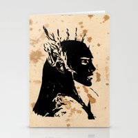 lotr Stationery Cards featuring Elven king by Panda Cool
