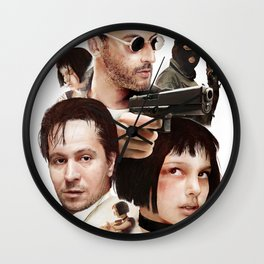 Leon: The Professional Wall Clock