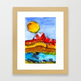 Landscape November 23 Framed Art Print