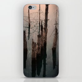 Dismal reflections iPhone Skin