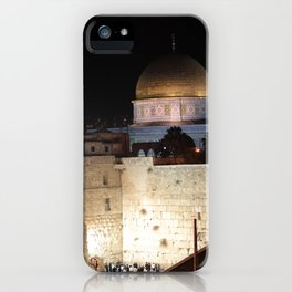 Jerusalem - The Western Wall - kotel iPhone Case