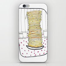 Pancakes iPhone & iPod Skin