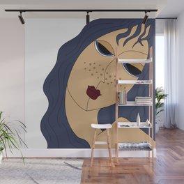 Star Girl Wall Mural