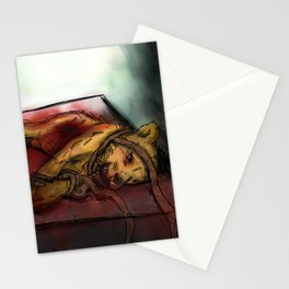 The Death of Aslan Stationery Cards