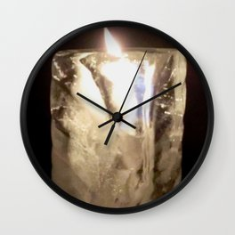 Fire from Ice - FredPereiraStudios.com_Page_09 Wall Clock
