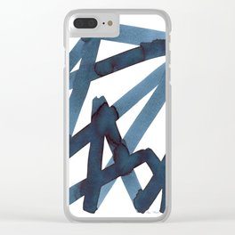 Assertion Clear iPhone Case