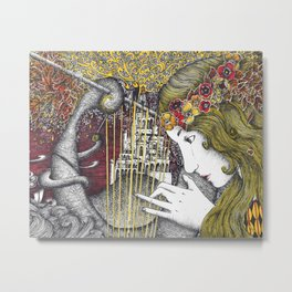 Song of the West Metal Print