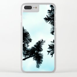 Turquoise Fun - nature photography Clear iPhone Case