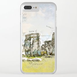 Stonehenge, England Clear iPhone Case