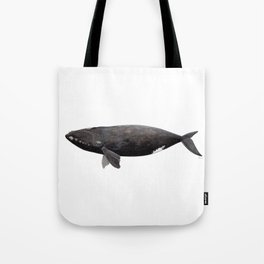 Northern right whale (Eubalaena glacialis) Tote Bag