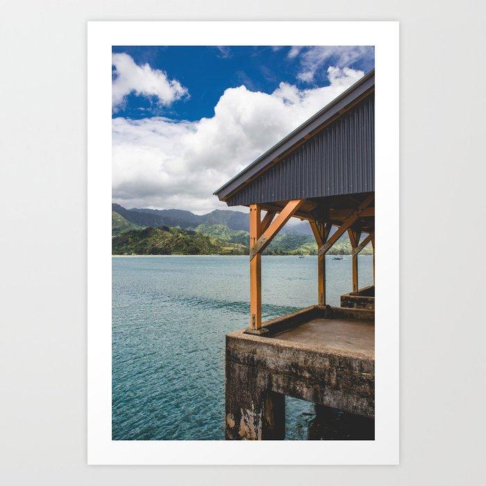 Kauai Bay Art Print