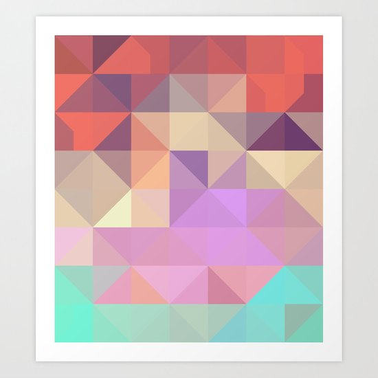 color story - tender Art Print
