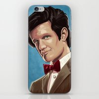 dr who iPhone & iPod Skins featuring Dr Who by MODBLOT: Art of Dan Marek