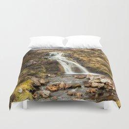 Moorland Waterfall Duvet Cover