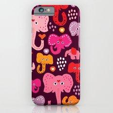 Elephant india parade iPhone 6 Slim Case