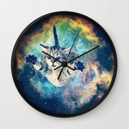 COSMO CAT Wall Clock