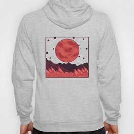 Mars Plane Astronaut Outer Space Gift Hoody