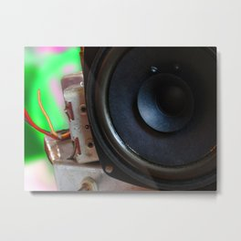 radio salvage Metal Print