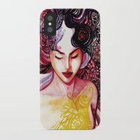 alone iPhone & iPod Cases featuring Alone by Verismaya