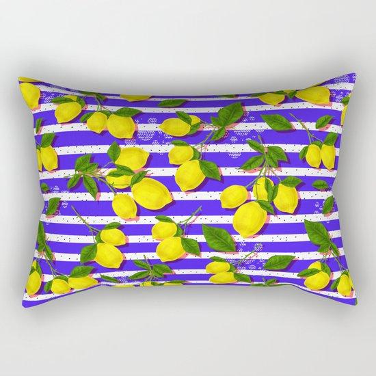 Pattern of lemons II Rectangular Pillow