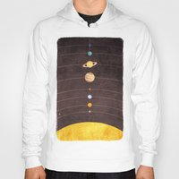 solar system Hoodies featuring Solar System by Annisa Tiara Utami