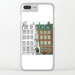Copenhagen Clear iPhone Case