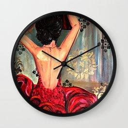 Spanish Dancer Wall Clock