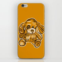puppy iPhone & iPod Skins featuring Puppy by Omar Sangiovanni