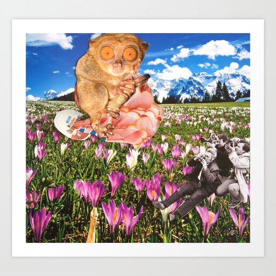Surreala Alpina 4 Art Print