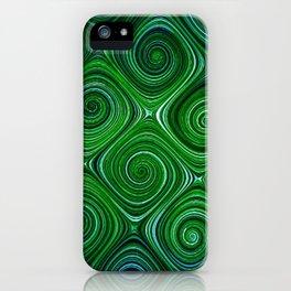 Electric Field Art XLIV iPhone Case